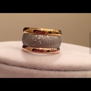 Stardust Pave Cocktail Ring